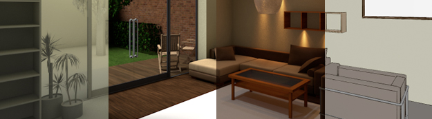 Rendering & animation: creating photo-realistic and artistic renderings of your project