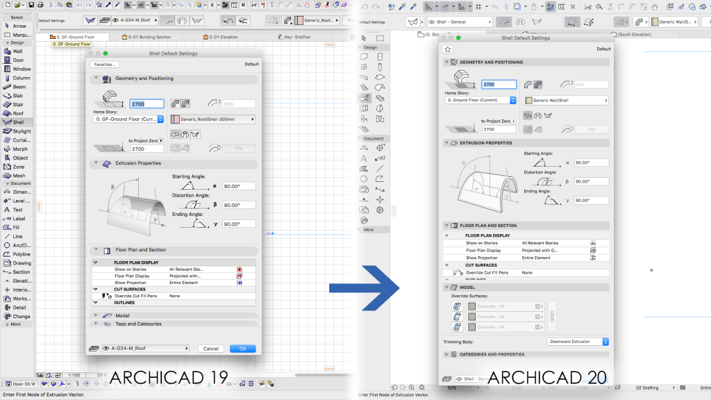ARCHICAD 20 - Intuitiveness - Applecore Designs