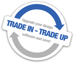 trade in - trade up logo