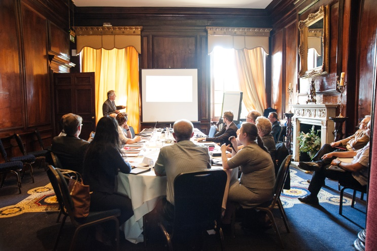 The Walnut Room at the BIM Conference 2016