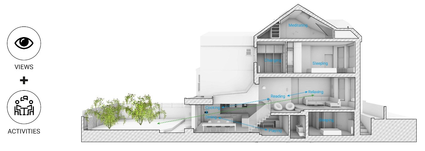 Scenario House Views and Activities