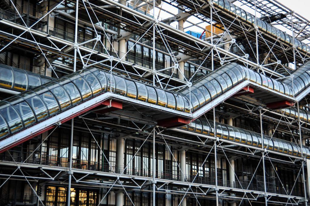 Centre Pompidou Facade