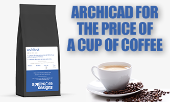 ARCHICAD – For the price of a cup of coffee - Applecore Designs