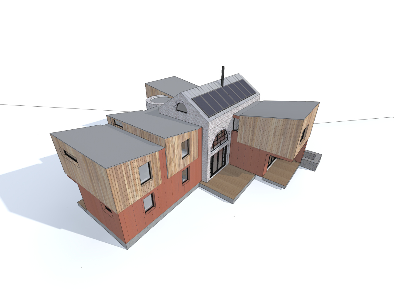 Iron Mill Bay House 3D view