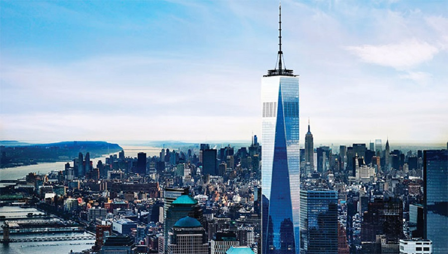 Formerly known as the Freedom Tower, One World Trade Centre is a monument that commemorates the original World Trade Centre, and the Twin Towers that were destroyed in the terrorist attacks of September 11, 2001.