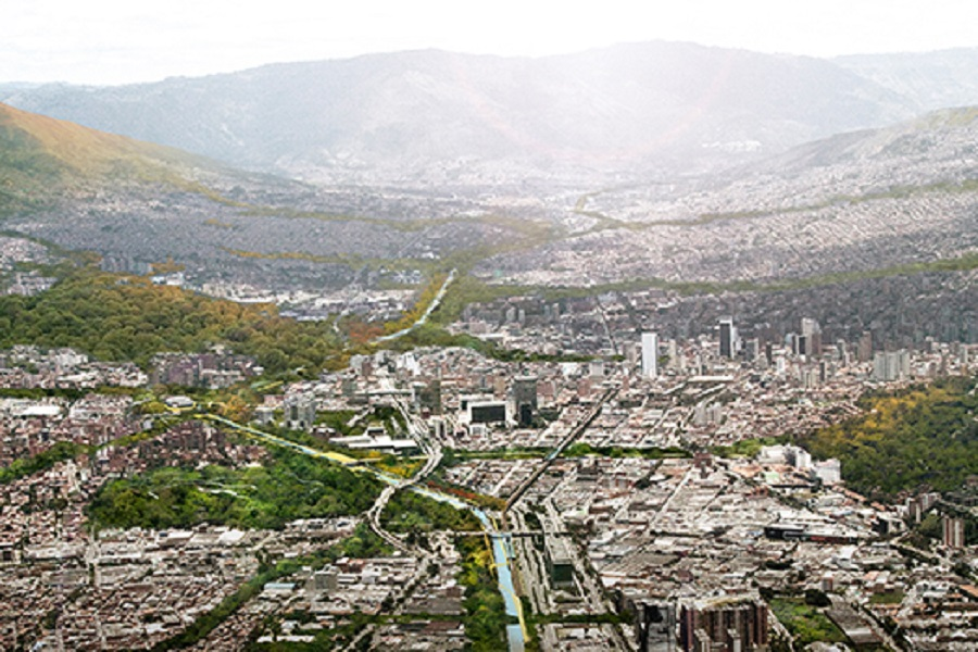 Future Project of the Year, supported by ABB and Busch-Jaegar: Sebastian Monsalve and Juan Davi Hoyos – Medellin River Parks/Botannical Park Master Plan, Medellin, Colombia