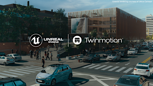 Epic Games Twinmotion and ARCHICAD 23 - Applecore Designs